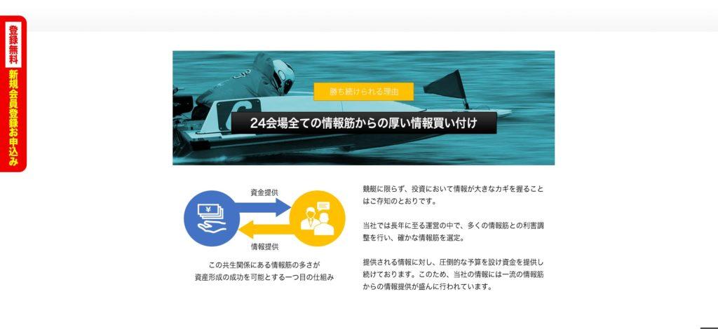 悪徳競艇予想サイト ドリームボート(DREAMBOAT)のアピール